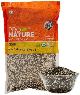 Pro Nature Organic Urud Black Split 500 gms