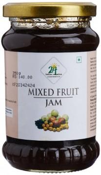 24 Mantra Organic Mixed Fruit Jam 350 gms