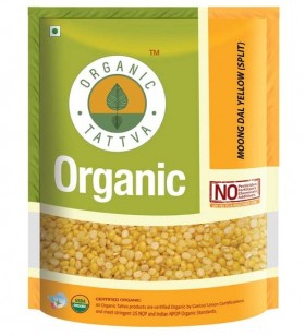 Tattva Organic Moong Dal Yellow Split 500 gms