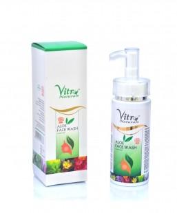Vitro Naturals Aloe Face Wash 150 ml
