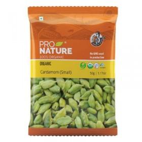 Pro Nature Organic Cardamom (Small) 50 gms