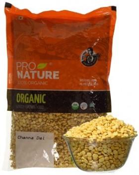 Pro Nature Organic Channa Dal 1 kg