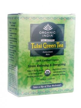 Organic India Tulsi Green 50 gms Box