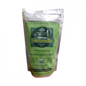 Organic India Tulsi Green Zipper 100 gms
