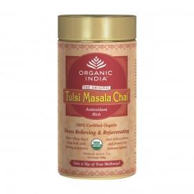 Organic India Tulsi Masala Chai Zipper 100 gms