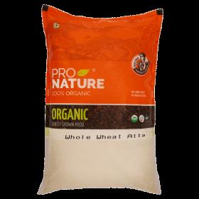 Pro Nature Organic Whole Wheat Atta 1 kg