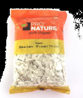 Pro Nature Organic Beaten Rice (Thin) 250 gms