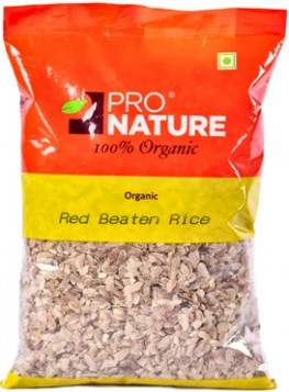 Pro Nature Organic Red Beaten Rice (Red Poha) 500 gms