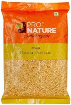 Pro Nature Organic Moong Yellow 500 gms