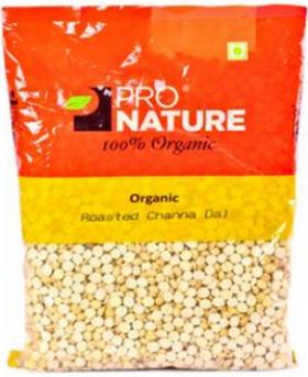 Pro Nature Organic Roasted Channa Dal 200 gms