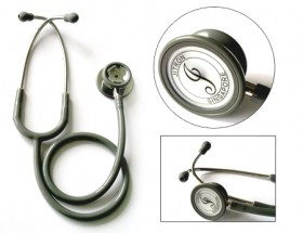 Jitron Adult Dual Head Stethoscope-Chrome Plated Zink Alloy-JT-601PF