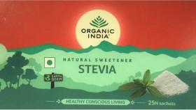 Organic India Stevia 25 Sachets