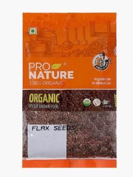 Pro Nature Organic Flax Seeds 100 gms