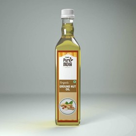 MRT Organic Ground Nut Oil 1 Ltr