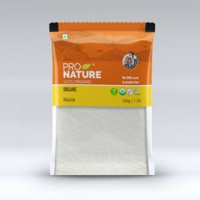 Pro Nature Organic Maida (All Purpose Flour) 500 gms