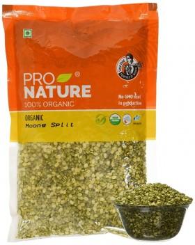 Pro Nature Organic Moong Green Split 500 gms