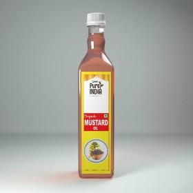 MRT Organic Mustard Oil 1 Ltr