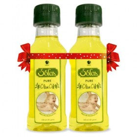Solasz Olive Oil Pure Buy 1 Get 1 Free - 100 ml
