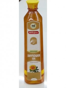 MRT Organic Safflower Oil 1 Ltr