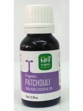MRT Organic Patchouli Oil 15 ml