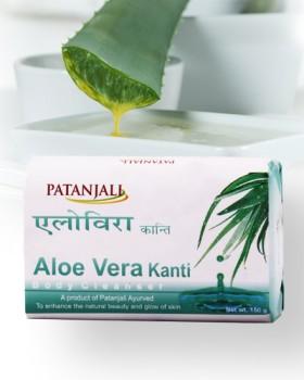 Patanjali Aloevera Kanthi Body Cleanser 150 gms