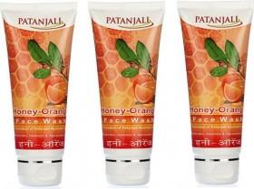 Patanjali Honey Orange Face Wash (180 gms)
