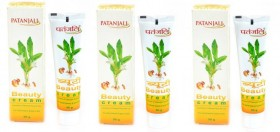Patanjali Beauty Cream Pack of 3 (150 gms)