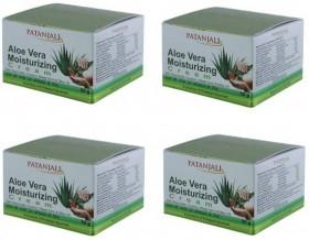 Patanjali Aloevera Moisturizing Cream 4 Pack 200 gms