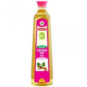 MRT Organic Ground Nut Oil Cold Pressed 500 ml