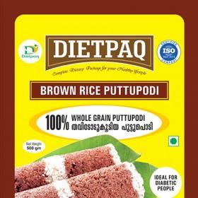 Dietpaq Brown Rice Puttupodi 500 gms