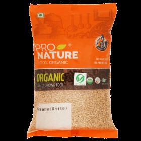 Pro Nature Organic Sesame (White, Natural) 200 gms