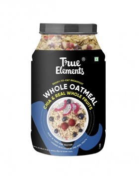 True Elements Whole Oatmeal with Chia & Real Whole Fruits 1kg