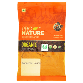 Pro Nature Organic Turmeric Powder 100 gms