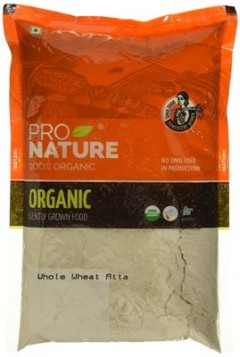 Pro Nature Organic High Fibre Atta (With Extra Bran) 1 kg