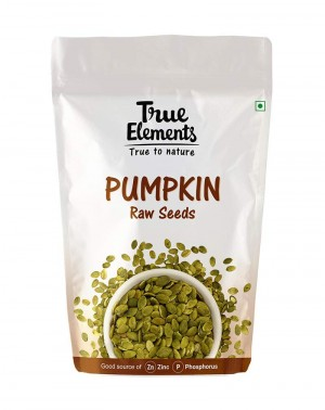 True Elements Raw Pumpkin Seeds, 250g