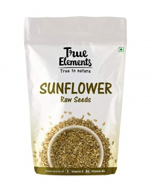 True Elements Raw Sunflower Seeds, 500g