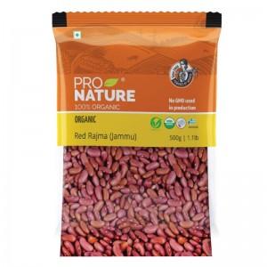 Pro Nature Organic Red Rajma (Jammu) 500 gms