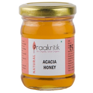 Praakritik Natural Acacia Honey 250gm
