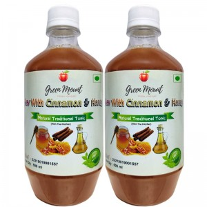ACV WITH CINNAMON AND HONEY 500ML (1+1 FREE)