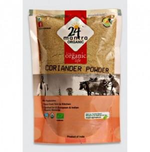 24 Mantra Organic  CORIANDER WHOLE 100GM