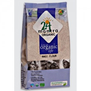 24 Mantra Organic Ragi Flour 500 gms
