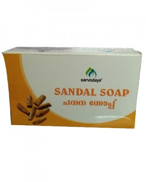 Sarvodaya Sandal Soap 75 gms