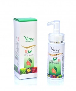 Vitro Naturals Aloe Face Wash 150 ml
