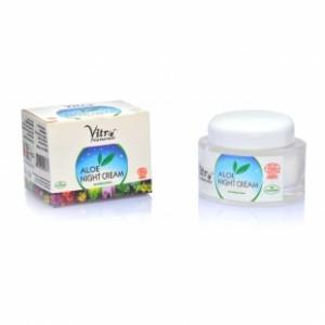 Vitro Naturals Aloe Night Cream 50 gms