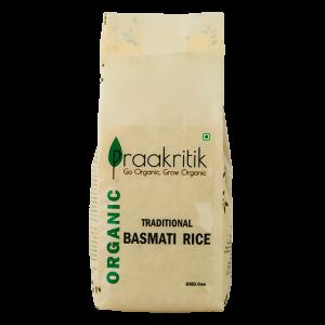Praakritik Basmati Rice Organic 500gm