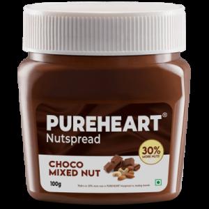 Pureheart Choco Mixed Nut Nutspread 100gms