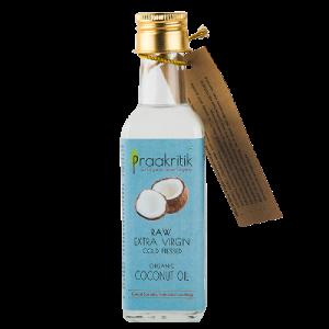 Praakritik Raw Extra Virgin  Coconut Oil 500 ml