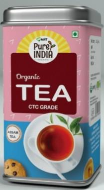 MRT Organic  Tea CTC Strong 100gm