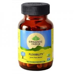 Organic India Flexibility 60 Capsules Bottle