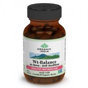Organic India Wt Balance 60 Capsules Bottle